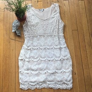 Jennifer Lopez Crochet Tank Dress